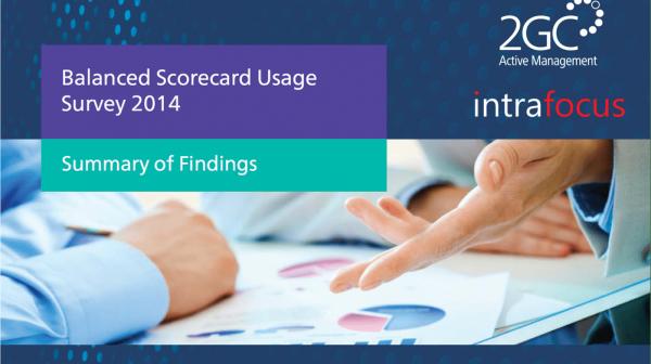 2014 Balanced Scorecard Usage Survey image