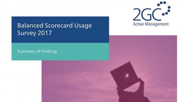 2017 Balanced Scorecard Usage Survey image