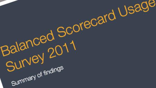 2011 Balanced Scorecard Usage Survey image